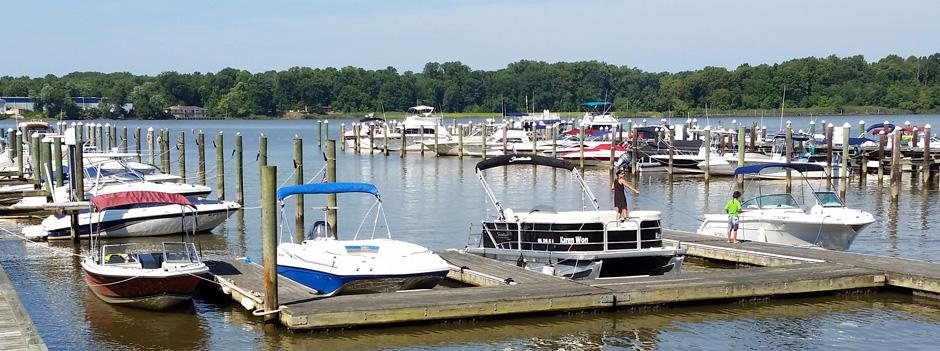 Locust Point Marina on the Chesapeake Bay